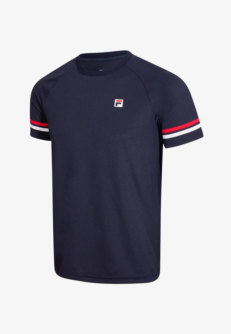 FILA FS2RSB2303X เสื้อยืดผู้ชาย (กรมท่า)